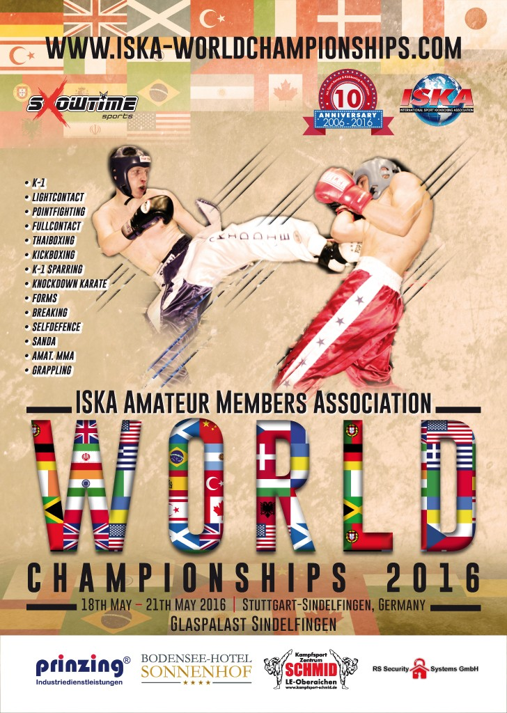 ISKA Amateur Members Association - World 2016